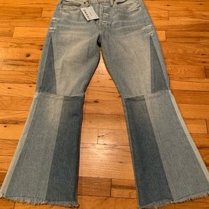 Frame NWT flare jeans